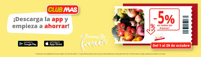 Presume de frutas y verduras