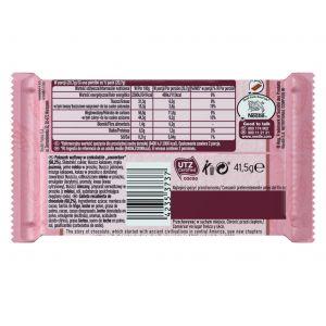 Chocolatina ruby rosa kit kat 41,4g