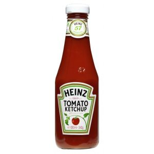 Ketchup heinz heinz bote de 340g