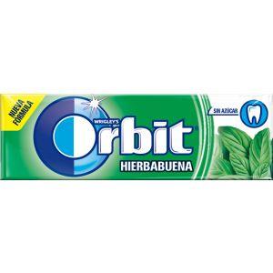 Chicles sin azucar hierbabuena orbit 10 grageas