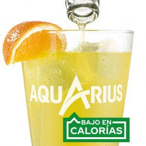 Bebida isot.  naranja aquarius pet 50cl