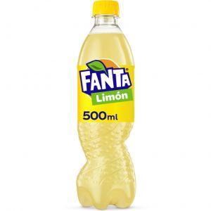 Refresco  limon fanta pet 50cl