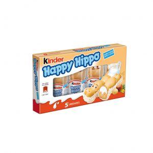 Chocolatina kinder happy hippo t5 103g