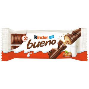 Chocolatina leche kinder bueno t2 43g