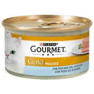 Comida gato pescado del oceano gourmet gold  85g