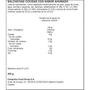 Salchichas wieners oscar mayer 200g