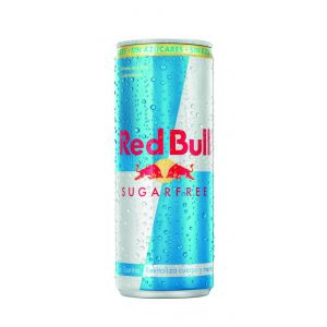 Bebida energ sugarfree  red bull lata  25cl