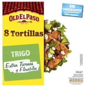 Tortillas mejicanas trigo old el paso 326g