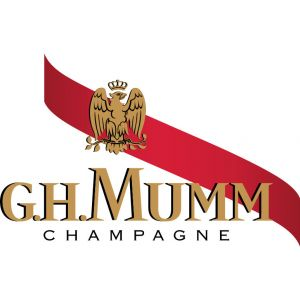 Champagne rose chocolate mumm bot 75cl