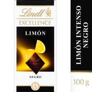 Chocolate negro suave limon excellent lindt  100g