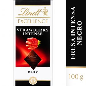Chocolate negro fresa excellent lindt  100g