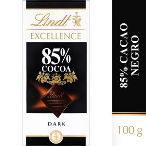 Chocolate negro 85%cacao excellent lindt 100g