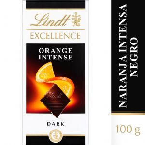 Chocolate negro naranja excellent lindt  100g