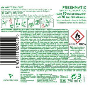 Ambientador automatico bouquet air wick recambio 250 ml
