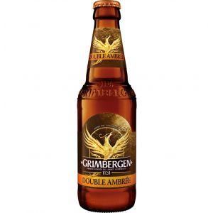 Cerveza double grimbergen botella 33cl