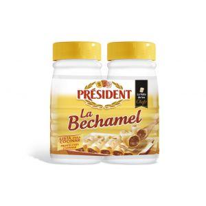 Salsa bechamel president p2x500ml