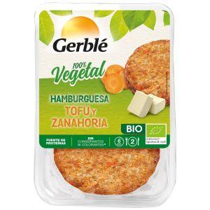 Hamburguesa vegetal bio de tofu y zanahoria gerble 160g