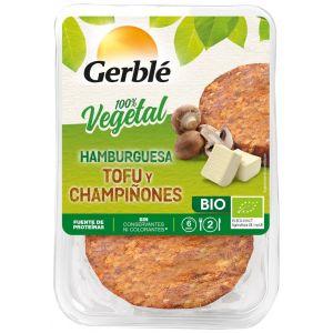 Hamburguesa vegetal bio de tofu y champiñones gerblé 160g