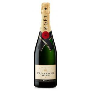 Champagne brut moet chandon botella de 75cl