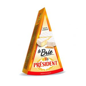 Queso brie president puntas 200g