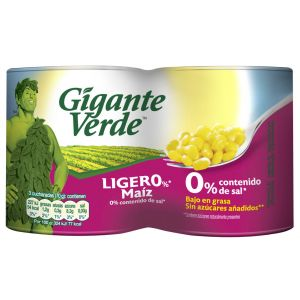 Maíz ligero  gigante verde lt p2x480g ne