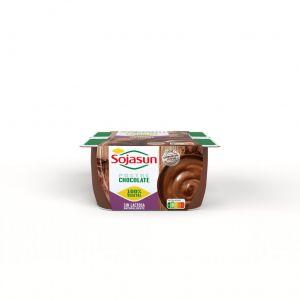 Postre chocolate sojasun p-4 x100g