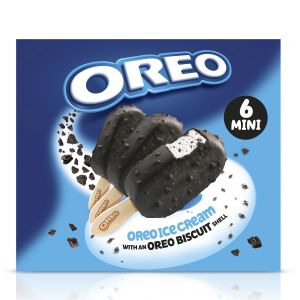 Helado mini bombon oreo p6x50ml