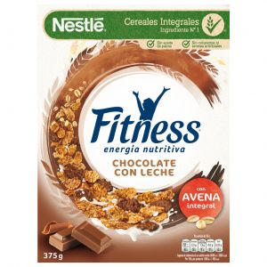 Cereales con chocolate nestle fitness 375g
