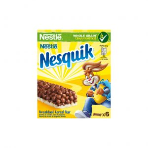 Barritas de cereales nesquik p6x25g