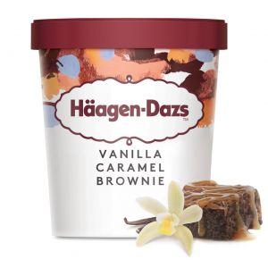 Helado brownie de caramelo y vainilla haagen dazs 500ml
