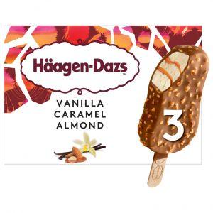 Helado bombon vainillla/caramelo haagen daz p3x80ml