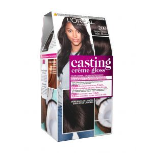Coloración casting crème gloss negro ébano 200 l'oréal paris