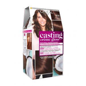 Coloración casting crème gloss castaño 400 l'oréal paris