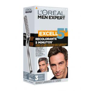 Coloración excell 5 men expert moreno natural 3 l'oréal paris
