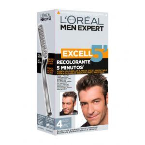 Coloración excell 5 men expert castaño oscuro 4 l'oréal paris