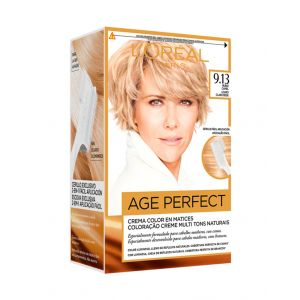 Coloración excellence age perfect 9.13 l'oréal paris