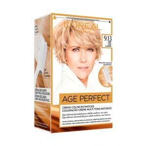 Coloración excellence age perfect 9.13 l'oréal paris