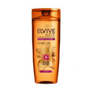 Champú elvive aceite extraordinario cabello seco l'oréal paris 370 ml