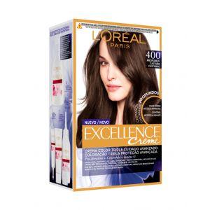 Coloración excellence crème moreno profundo 400 l'oréal paris