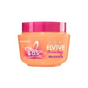Mascarilla elvive s.o.s. elvive dream long l'oréal paris 300 ml