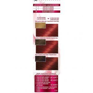 Coloración color sensation rojo intenso 6.60 garnier