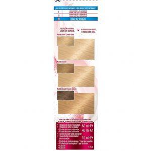 Coloración color sensation rubio extra claro ceniza 110 garnier