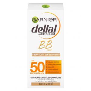 Crema facial bb sun color delial fsp 50+ 50ml