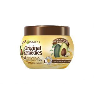 Mascarilla original remedies aguacate y karité garnier 300 ml