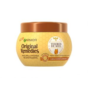 Mascarilla original remedies tesoros de miel garnier 300 ml