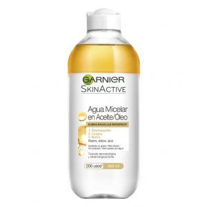 Agua micelar en aceite  garnier  400ml