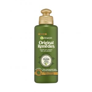 Aceite en crema original remedies oliva mítica garnier  200 ml