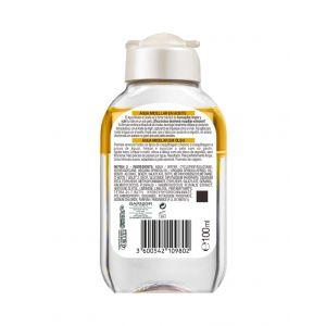 Agua micelar en aceite  garnier  100ml