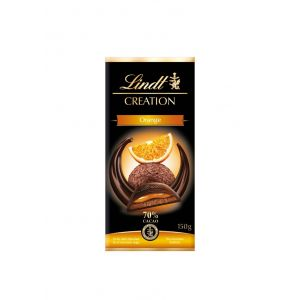 Chocolate negro 70% naranja lindt creation 150g