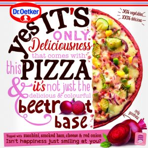 Pizza  remolacha dr.oetker 345g
